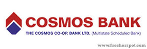THE COSMOS CO OPERATIVE BANK LIMITED